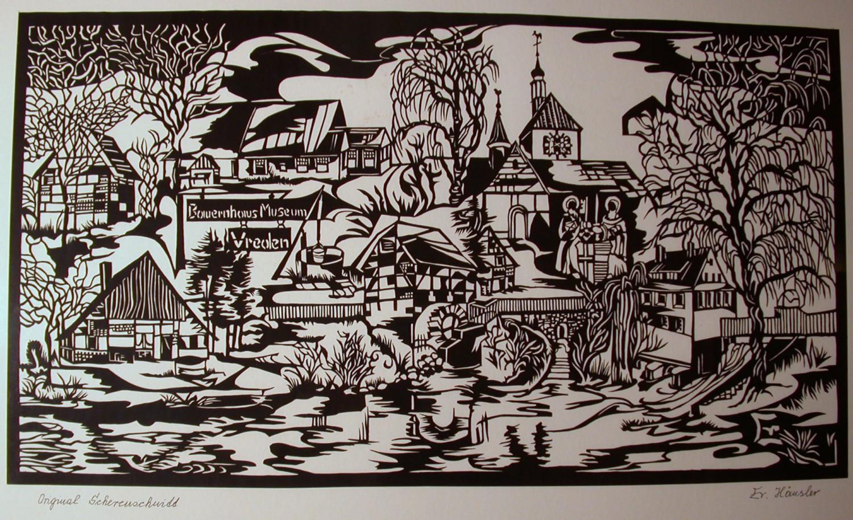 Bauernhausmuseum Vreden von E. Häusler