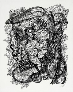"Zipora-Rafaelov: ""Ami we Tami"", 2012, 113 x 90 cm."