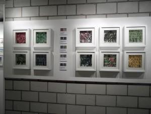 """Ausstellungsansicht """"Kunst im Dorf"""" (Rickenbach, ZH), 2014"""