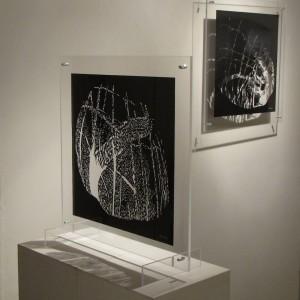 Ruth Bühlmann: Steinschnitte, 2011, 40x 40 cm