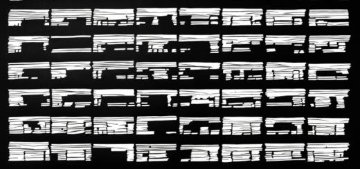 Dorthe Goeden: Ohne Titel (11/03) Papierschnitt, 107,5 x 149 cm (inkl. Rahmen), 2011