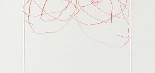 Katharina Hinsberg, Divis, 2013, Farbstift auf Papier, ausgeschnitten, 30 x 30 cm, Courtesy edith wahlandt galerie, Stuttgart, Foto: Achim Kukulies, Düsseldorf, © VG Bild-Kunst, Bonn 2015