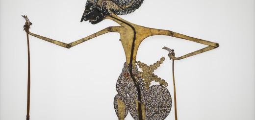 Schattenspielfigur (Raden Arjuna), Indonesien, Java, Ende 19. Jh., Slg. Buchner, Copyright: Linden-Museum Stuttgart, Foto: A. Dreyer, Inv.-Nr. 24908-3