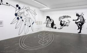 7 Boote, Installationsansicht, Galerie von Braunbehrens, Stuttgart 2016 © Jörg Mandernach