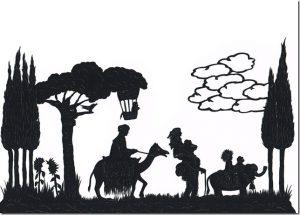 Schnitt von Karin Dickel-Jonasch zu einem Märchen von Peter Wackelnagel, aufgeschrieben von Christof Wackernagel